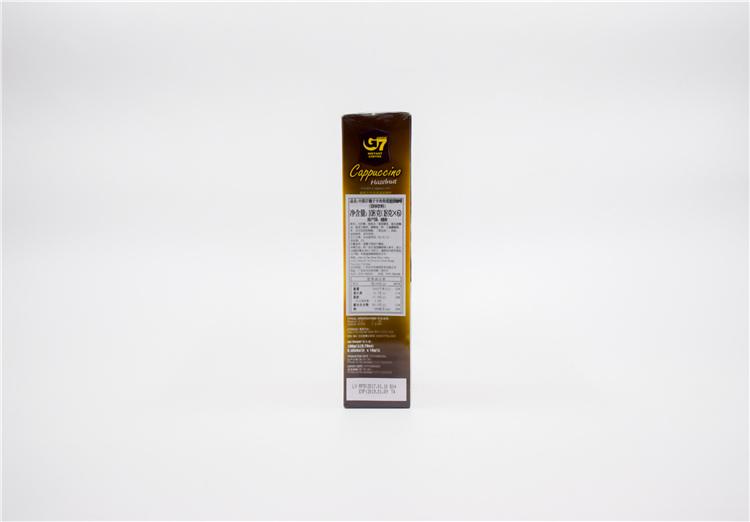 越南 中原G7卡布奇诺咖啡榛子味108g  0107728图片四