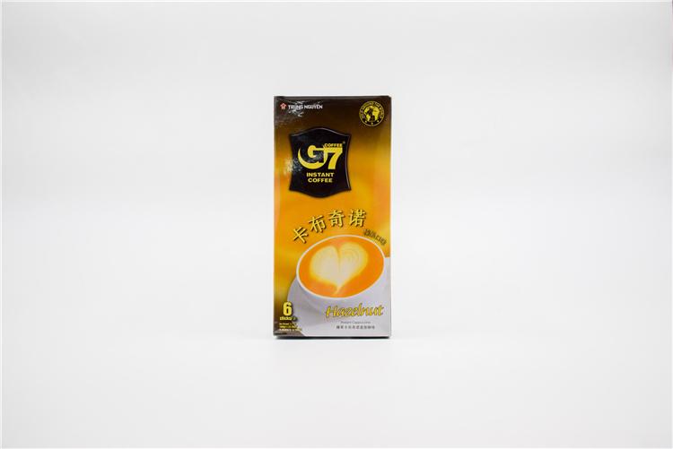 越南 中原G7卡布奇诺咖啡榛子味108g  0107728图片二