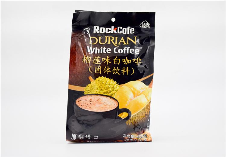 越南 榴莲味白咖啡600g  0107832图片一