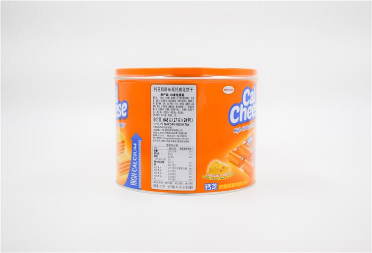 印尼 钙芝奶酪味高钙威化饼干648g  0101227图片二