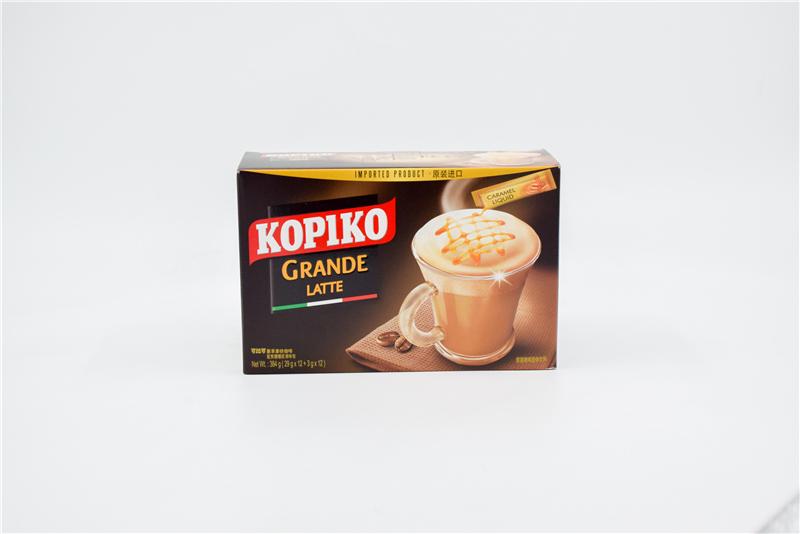 可比可豪享拿铁咖啡384克 0108223图片一