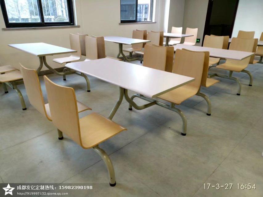 快餐桌椅,食堂餐桌椅,食堂快餐桌椅厂家图片一
