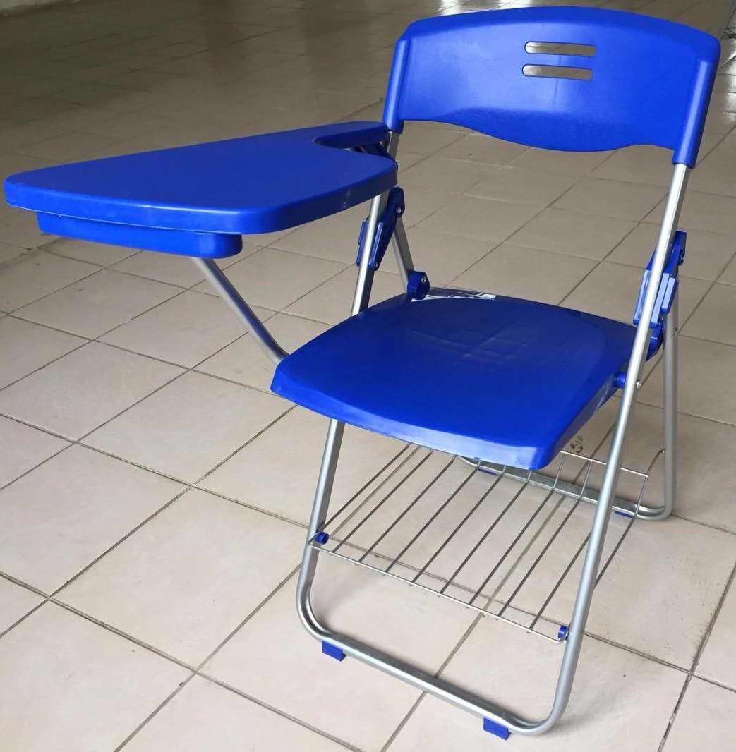 折叠培训椅,塑料培训椅,多层板培训椅,带写字板培训椅图片一