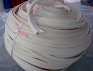 硅胶发泡条(耐高温250度发泡条)