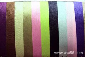 【质量保证现货供应】过胶色丁布F1细纹色丁贡缎里布 仿真丝