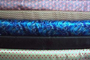 【厂家直销】现货供应 印花色丁细纹粗纹色丁 绸布系列