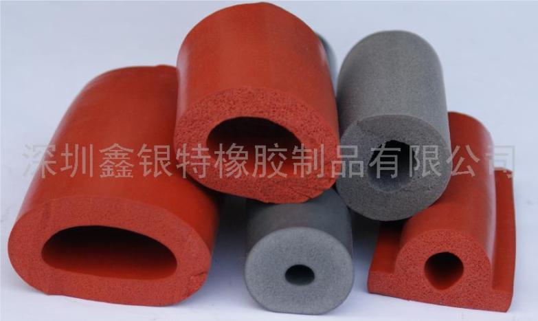 硅胶发泡管,发泡硅胶管(厂家直销,质量第一)大图一