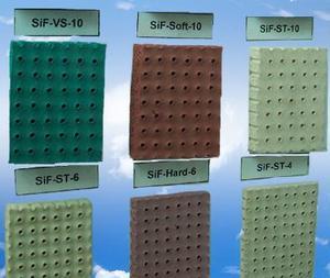 针孔硅胶发泡板,发泡硅胶板