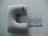 充气枕,pvc枕,航空枕,植绒枕