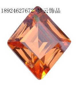 厂家直销菱形水晶宝石