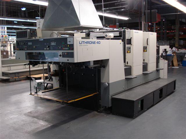 小森印刷机_供应2000小森印刷机,对开双色