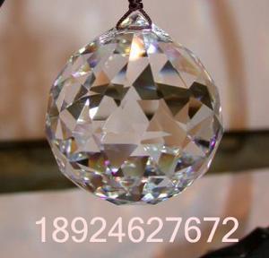 水晶灯饰球、水晶吊球