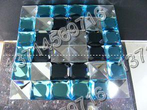 水晶马赛克、玻璃贴片大图一
