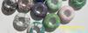 天然松石、宝石半成、松石大孔珠小图一