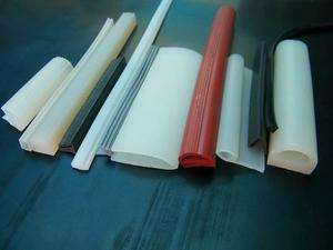 耐高温硅胶E型条/机柜密封条/烤箱密封条