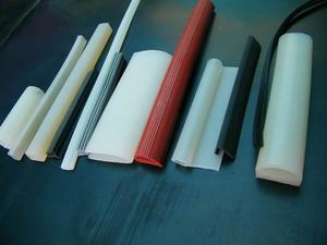 环保异形硅胶条/进口食品级硅胶管/硅胶E型条