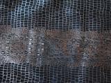 厂家直销供应二层金属蟒蛇纹真皮