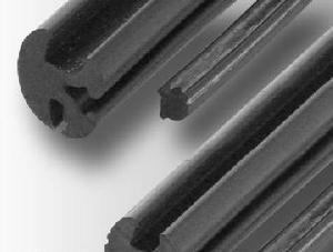 生产直销/橡胶三线条/玻璃卡边密封条/橡胶绳
