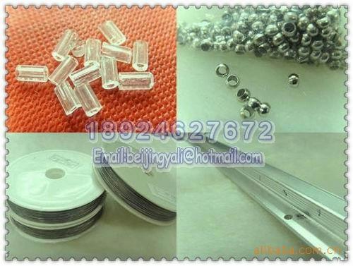 加工定做水晶珠帘、压克力珠帘,厂家直销各种塑料连线珠帘、线帘大图一
