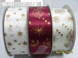 印刷涤纶带蝴蝶结/色丁丝带深圳蝴蝶结段带 饰品带 秀士带