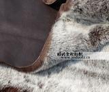 供应麂皮绒复合长毛绒 高档服装鞋材面料