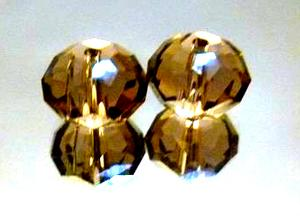 水晶扁珠各种颜色现货供应