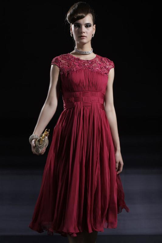 结婚红色小礼服 淘宝网结婚红色小礼服 苏式结婚红色小礼服大图一