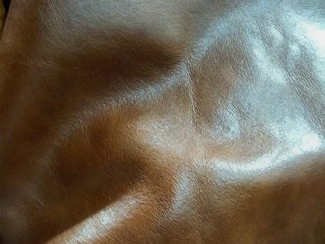 厂家大量供应精质头层牛皮油蜡(棕色)【大量现货】大图一