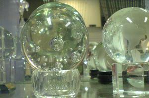 水晶玻璃气泡球