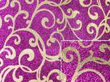 厂家供应格利特特殊皮革#环保闪光PVC特殊皮革#