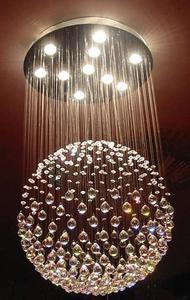 球形水晶灯