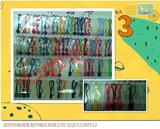供应吊粒吊牌绳方形圆形吊线一次成型塑料挂绳