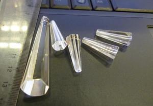 水晶牛腿 水晶火腿 (单孔、通孔) 大小可定做