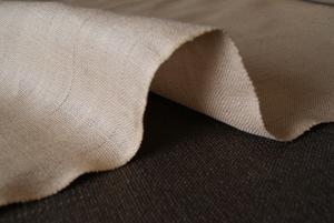 供应黄麻坯布,染色布,烫金印花