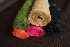 剑麻丝布,工艺品用料,装饰布