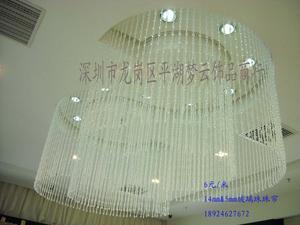 水晶珠帘-白色透明搭配