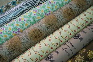 供应印花麻布,适用手袋,箱包,鞋材,装饰布