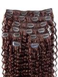 厂家直销真人发假发出口发卡 苛苛非主流女人接发真发发束卡子发