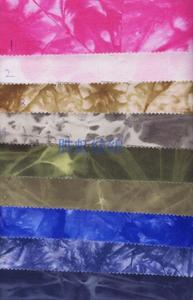 【厂家直销】2×2扎染全棉帆布 全棉帆布 手袋箱包面料