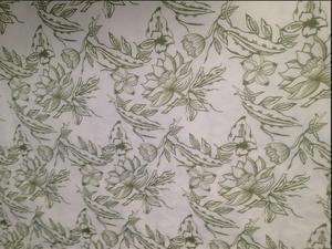 【花朵印花色丁】可依据客户样式定做各种中高低档色丁印花