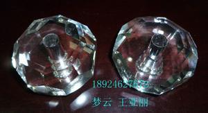 10mm打孔水晶刻面球
