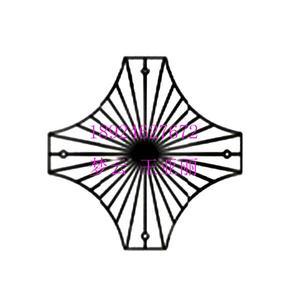 十字架形状水晶吊坠