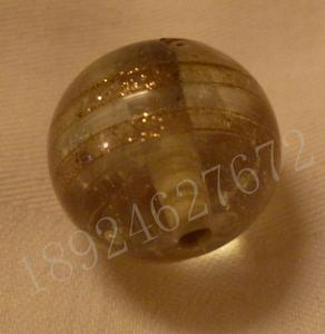 金粉珠子、金箔珠、银箔珠
