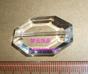 23x34mm六边形通孔亚克力珠(2156#)