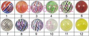 圆形异形划丝玻璃珠(有孔、无孔、空心、实心)