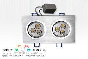 6*1W大功率灯珠 连体LED节能灯