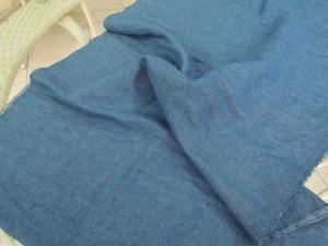 6安水洗牛仔布 饰品包装牛用布