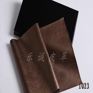 供应各种环保PU/PVC皮革 沙发革 LC1023