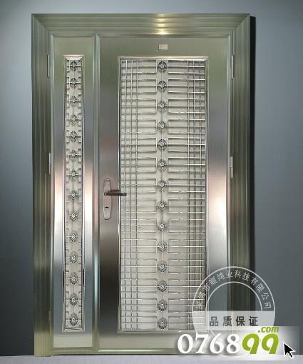 不锈钢防盗门/玻璃防盗门/入户防盗门