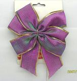 〈蝴蝶结〉涤纶带蝴蝶结/罗纹带/圣诞节罗纹带蝴蝶结